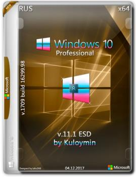 Windows 10 Pro 1709 x86/x64 by kuloymin v11.1 (esd)