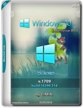 Windows 10 Enterprise RS3 G.M.A. QUADRO (x64)