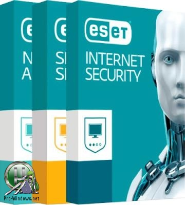 Антивирус - ESET NOD32 Antivirus / Internet Security / Smart Security Premium 11.1.54.0 RePack by KpoJIuK