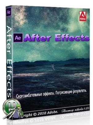 Редактор анимированной графики - Adobe After Effects CC 2019 (16.0.0.235) Portable by XpucT