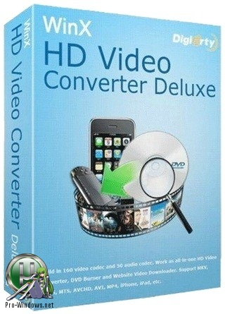 Конвертер видеофайлов - WinX HD Video Converter Deluxe 5.15.2 / WinX VideoProc 3.3 | RePack & Portable by elchupacabra