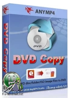 Точное копирование DVD-5/DVD-9 дисков - AnyMP4 DVD Copy 3.1.30 RePack (& Portable) by TryRooM