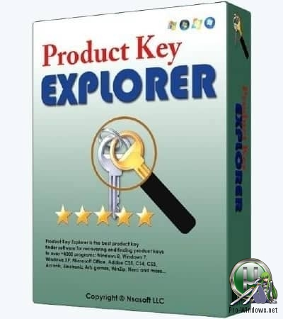 Расшифровка ключей продуктов Microsoft - Product Key Explorer 4.1.8.0 RePack (& Portable) by TryRooM