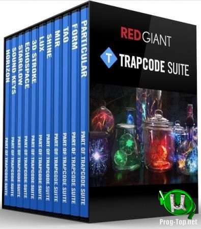 Плагины для обработки графики - Red Giant Trapcode Suite 15.1.5 RePack by PooShock