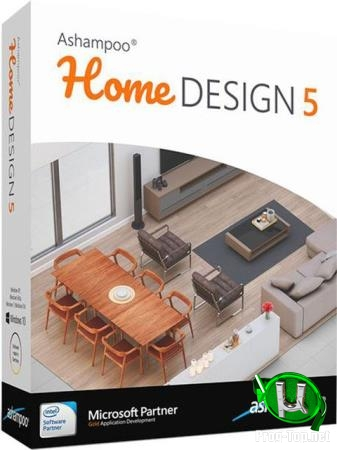 Программа для 3D планирования - Ashampoo Home Design 5.0.0 Portable by Deodatto