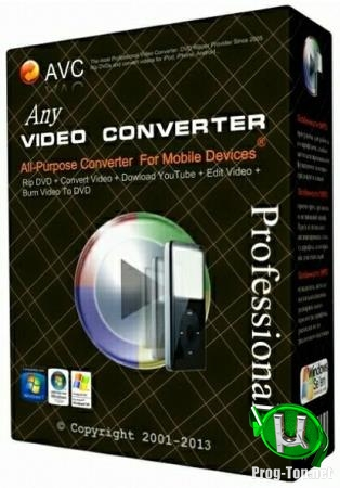 Быстрый конвертер видео - Any Video Converter Professional 6.3.6 RePack (& Portable) by TryRooM